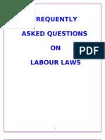 Faqs on Labour Laws Handbook