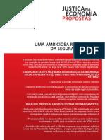 PROPOSTA 3 - SEGURANÇA SOCIAL