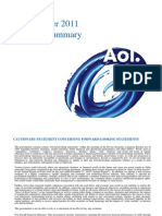 Request-AOL Q1 2011 Earnings Presentation