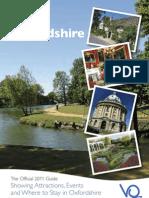VisitOx Destination Guide 2011 Web