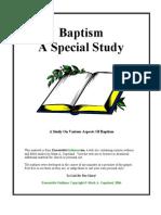 Baptism Special Study