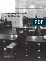 A Guide to Conducting Research in FBI Records