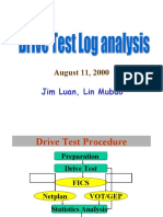 Drive Test Logs Analysis
