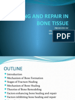 Healing and Repair in Bone Tissue- Asafu