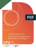 The Internet and Canada's Future