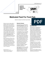Medicated Feed for Food Fish