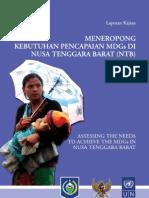 Laporan Kajian MDGs NTB