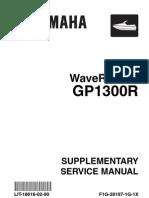 Yamaha GP1300R  Service Manual