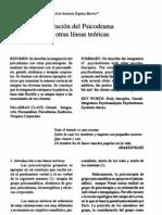 Integracion en psicodrama