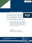 Professional Standards Graduate Teachers