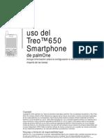 Manual Palm Treo 650 Es