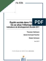 Equité sociale dans l'OCDE