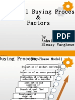 Industrial Buying Process  & Factors