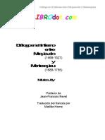 Joly, Maurice - Dialogo en El Infierno Entre Maquiavelo y Mostesquieu