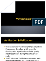 Verification & Validation