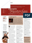 Juan Martin Flamenco Master Class