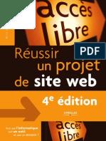 Réussir un projet de site web - 4ème Edition