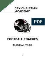 Coaches Manual 2010