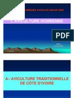 Presentation de La Filiere Avicole de La Cote d Ivoire IPRAVI