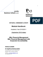 FIN4511 MODULE HANDBOOK 2010-2011 %28September 2010 Intake%29