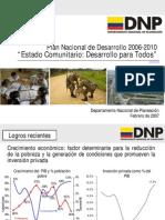 Plan Nacional de Desarrollo 2006 - 2010