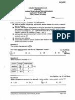 Chem Worksheet 3