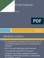 7.29.08 Peery. Metabolic Acidosis