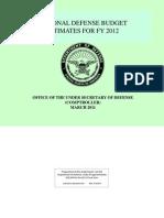 DoD Green Book Final FY12