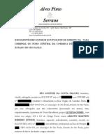 Queixa Crime de Rui Falcão contra Amaury Ribeiro Junior