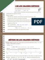 VALORES CRÍTICOS Y VALOR ABSOLUTO 3
