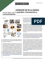 Juandomingofarnos.wordpress.com La Sociedad Aprende de Ella Misma Con Las Tic Juandon Innovaci n y Conocimiento