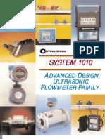 Controlotron Clampon Flow Meters 1010 Brochure