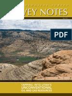 Survey Notes, May 2011