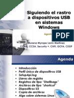 Siguiendo El Rastro a Dispositivos Usb en Sistemas Windows BugCON[1]