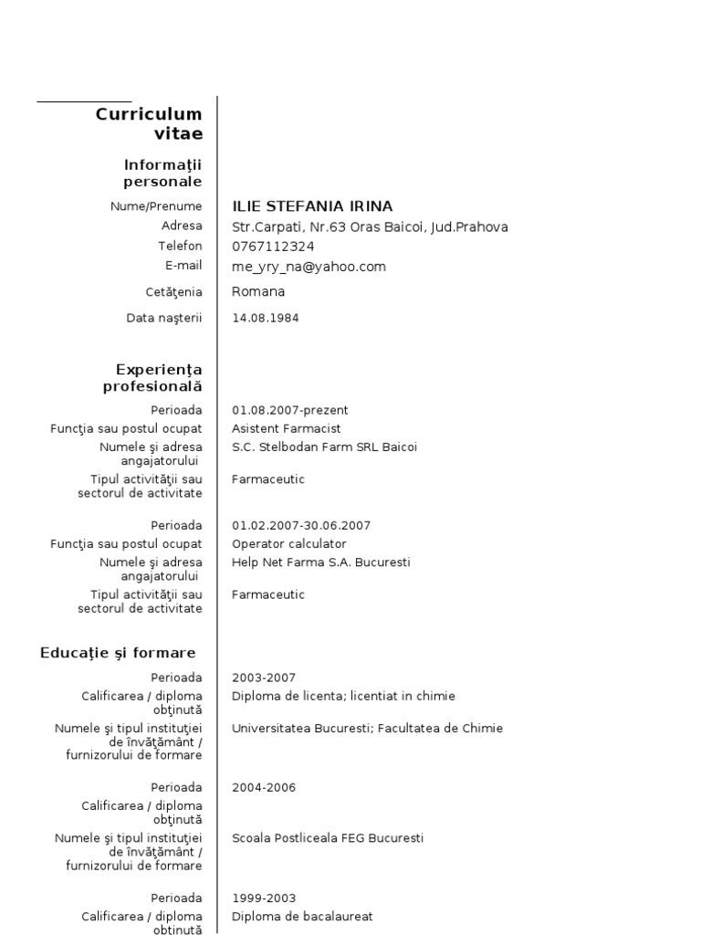 History teacher resume objective latest resume templates free 1 1 model cv european europass 1 yelopaper Images
