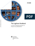 The LogFrame Hand Book