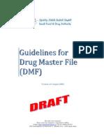 GuidelinesforDrugMasterFileDMF[1]