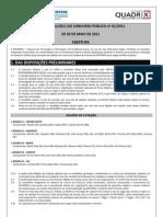 Edital Dataprev 2011 v1 ( O CONCURSO)