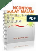 Panduan Solat Tarawih / Witir / Tahajjud / Qiamullail yang Benar