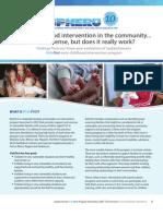 Saskatchewan KidsFirst Evaluation (2007-2010)