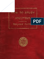 How to Study Kreutzer