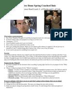 2011 Notre Dame Spring Coaches Clinic - Urban Meyer