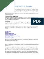 Cấu trúc của HTTP Message
