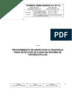 Procedimiento Inspeccion de Ultrasonido Para Deteccion de Fugas
