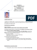 Avik Resume