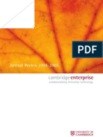 CambridgeEnterpriseAnnualReview2004-05