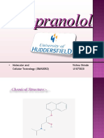 Propranolol Presentation Final