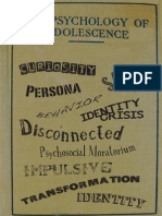 ARTED 5220_Adolescence a Keyword Dictionary_2011