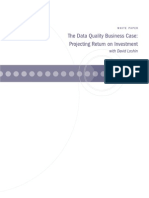 a Data Quality Business Case