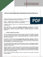 Comentariu Legislativ - Procedura Executarii Silite - Ian